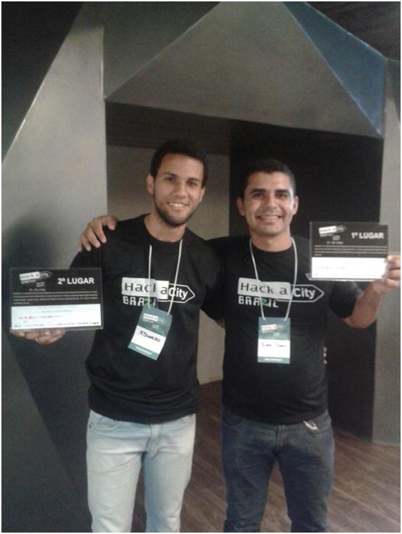 Eduardo e Edvan, bolsistas do nosso Lab