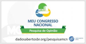 Pesquisa Meu Congresso Nacional
