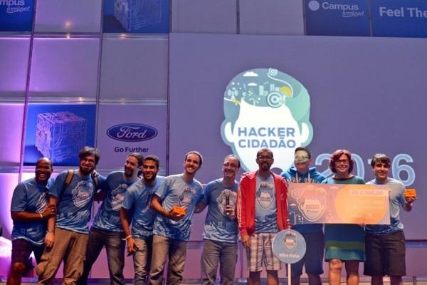 Premiação da Hackathon Hacker Cidadão