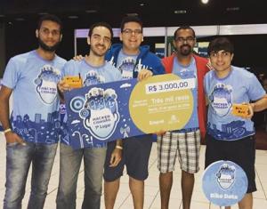 Equipe Vencedora da Hackathon Hacker Cidadão